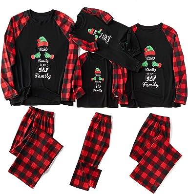 Yaffi - Conjunto de Pijama de Navidad con diseño de Gorro de ...