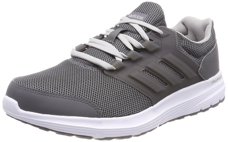 adidas Galaxy 4 M, Zapatillas de Running Para Hombre 43 1/3 EU|Gris (Grey/Grey/Grey 0)