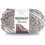 Bernat Blanket Big Ball Yarn (10001) Silver Steel, Silver Steel
