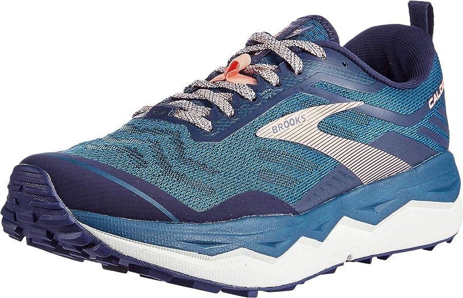 Brooks Caldera 4, Zapatilla de Correr para Mujer, Blue Peacoat Desert Flower, 36.5 EU: Amazon.es: Zapatos y complementos