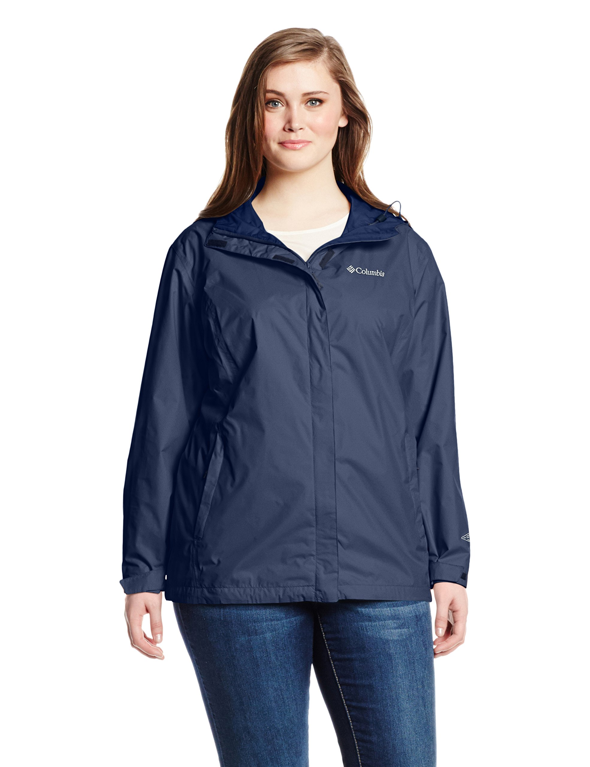 Columbia Women's Plus-Size Arcadia Ii Plus Size Jacket Outerwear, Navy, 3X