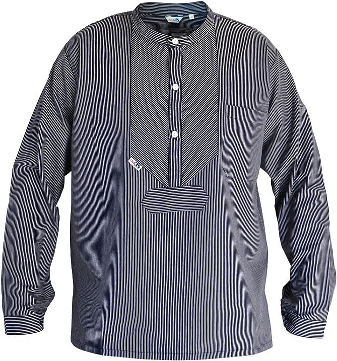 Camisa de pesca Modas Finkenwerder BasicLine estrechas rayas, Größe:Herren. M: Amazon.es: Deportes y aire libre