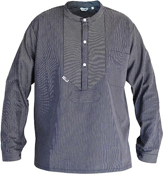 Modas Finkenwerder Fischerhemd BasicLine schmal gestreift