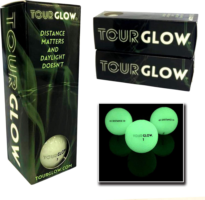 TourGlow Distance - Premium Night Golf Balls