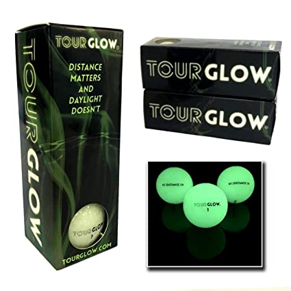 Amazon.com: TourGlow Distance – Pelotas de golf de noche ...