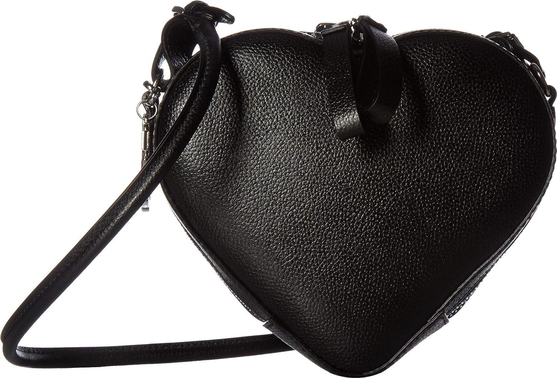 fefc9e8a8d Amazon.com: Vivienne Westwood Women's Johanna Heart Crossbody Black One  Size: Shoes