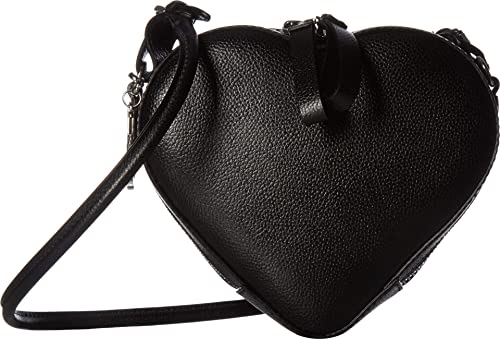 f30035bf44e Amazon.com: Vivienne Westwood Women's Johanna Heart Crossbody Black ...