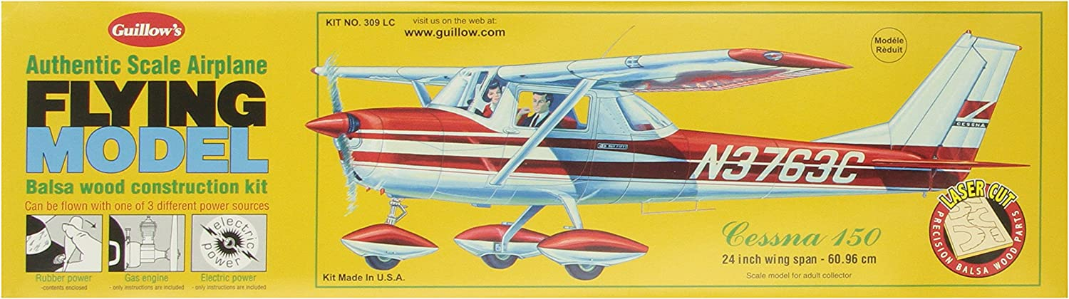 Guillow's Cessna 150 Laser Cut Model Kit