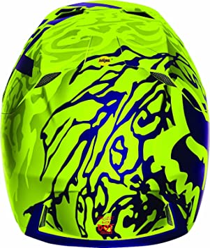 Fox Racing Adult Cauz V3 Motocross Mx Helmet Yellow High Viz 2016 Size Medium By Fox Racing Auto
