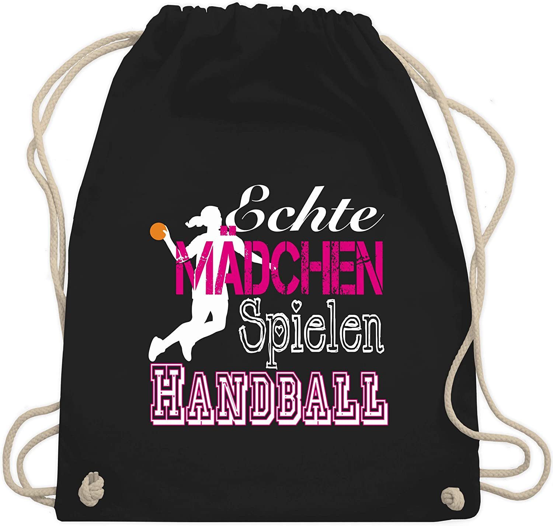 Handballerin Echte Mädchen Spielen Handball Frauen Premium T-Shirt