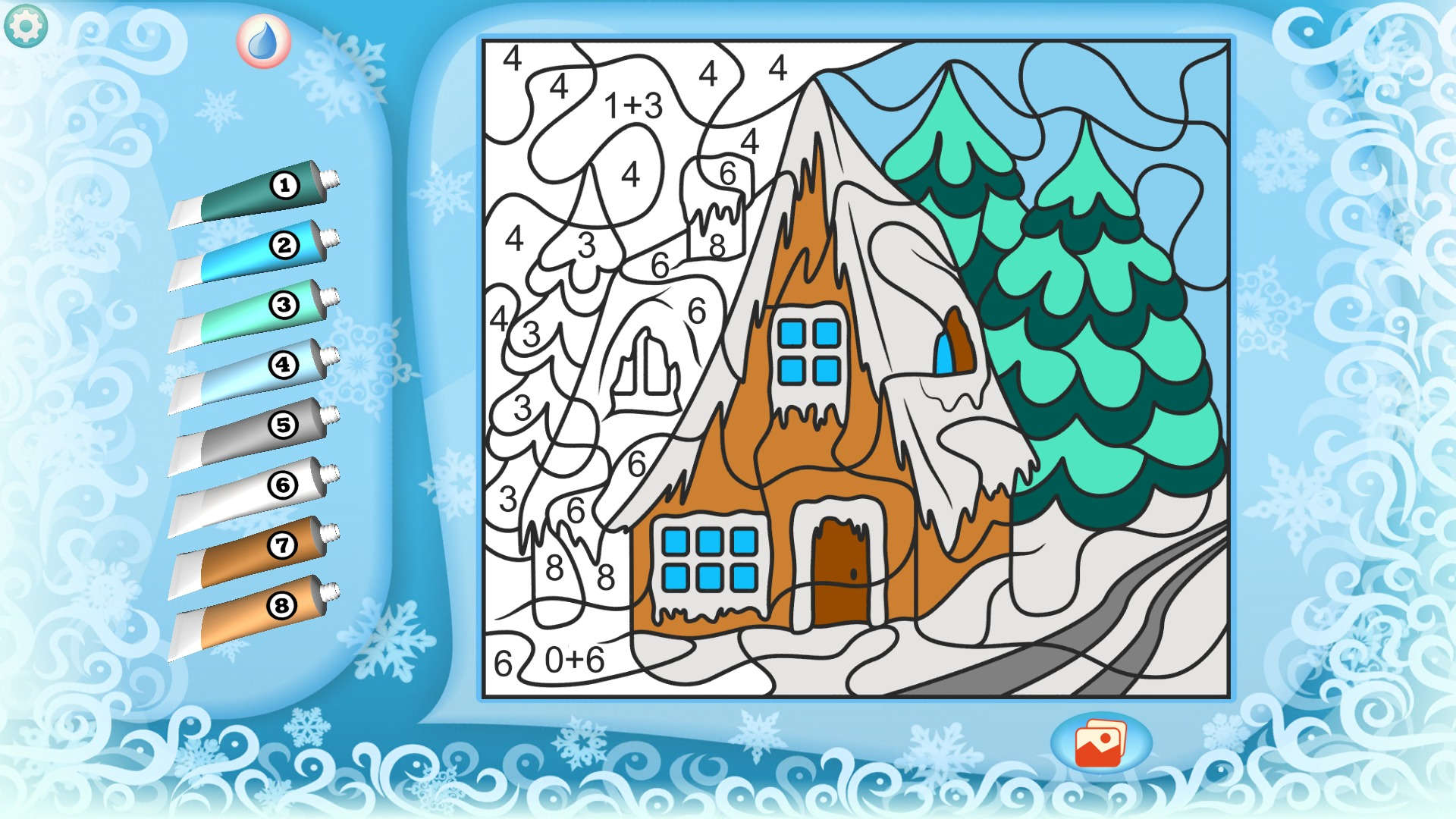 Amazon.com: Color by Numbers - Christmas +: Appstore for Android