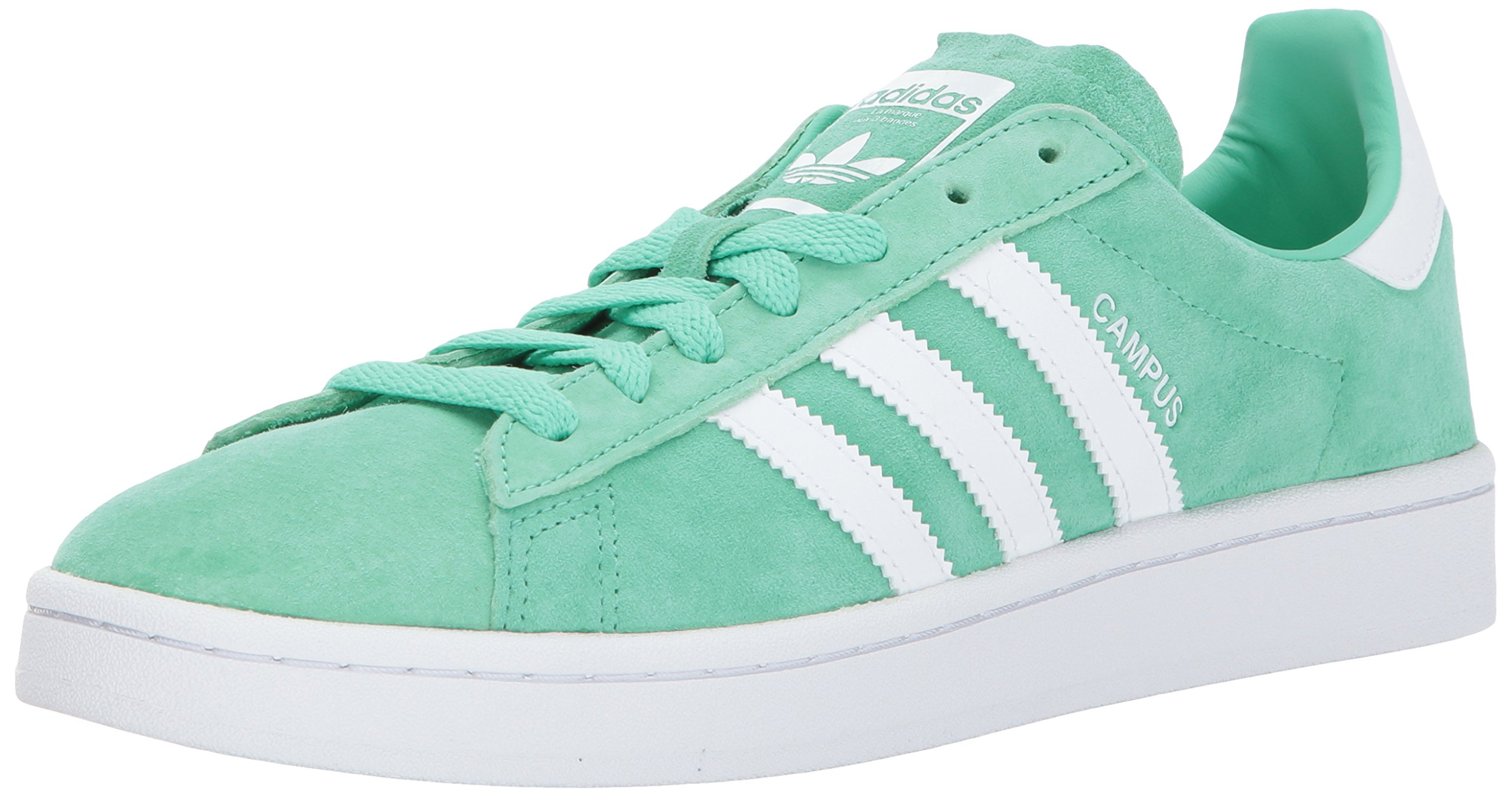 adidas Originals Men's Campus Sneakers -, Green Glow Crystal White, (11 M US) by adidas Originals (Image #1)