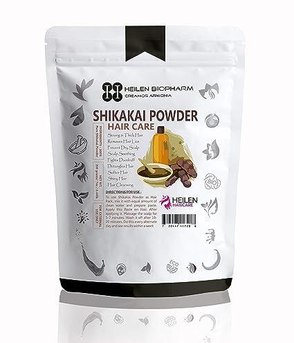 Shikakai – Polvo para el pelo (shikakai powder) – pelo oscuro, grueso,