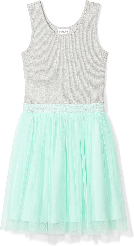 Amazon Brand - Spotted Zebra Girls Knit Sleeveless Tutu Dresses