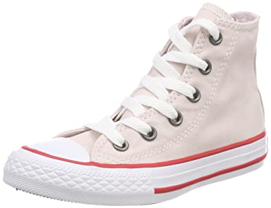 04f27857faf Converse Unisex Kids  Chuck Taylor CTAS Hi Canvas Fitness Shoes Pink (Barely  Rose