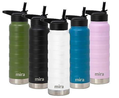 MIRA - Botella de agua de acero inoxidable con aislamiento ...