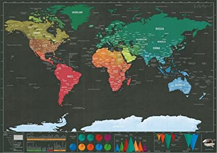 Surprising Day Deluxe Luxury World Map Wall Stickers Home Decor One Piece  In Stock Deluxe World
