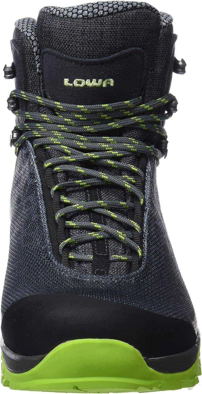 Lowa Women's High Rise Hiking, Black (Schwarz/Schwarz 9999), 6.5 UK Grey Grau Mint 9005