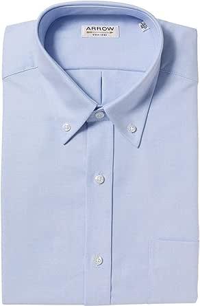 Arrow – Camisa confort fit algodón Oxford Authentic azul cielo