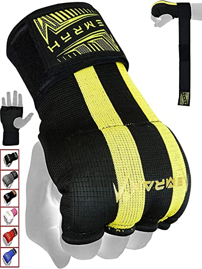 MMA Boxing Hand Wraps Inner Gloves Bandages Protector Muay Thai Mitts