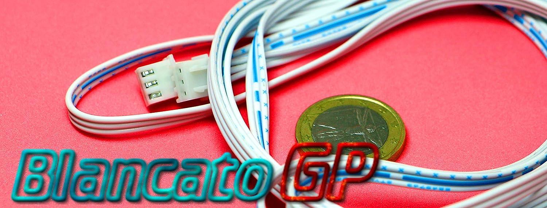 macho JST-XH perfecta para sensores Hall Extensi/ón 2 m XH2.54-3P 3P macho