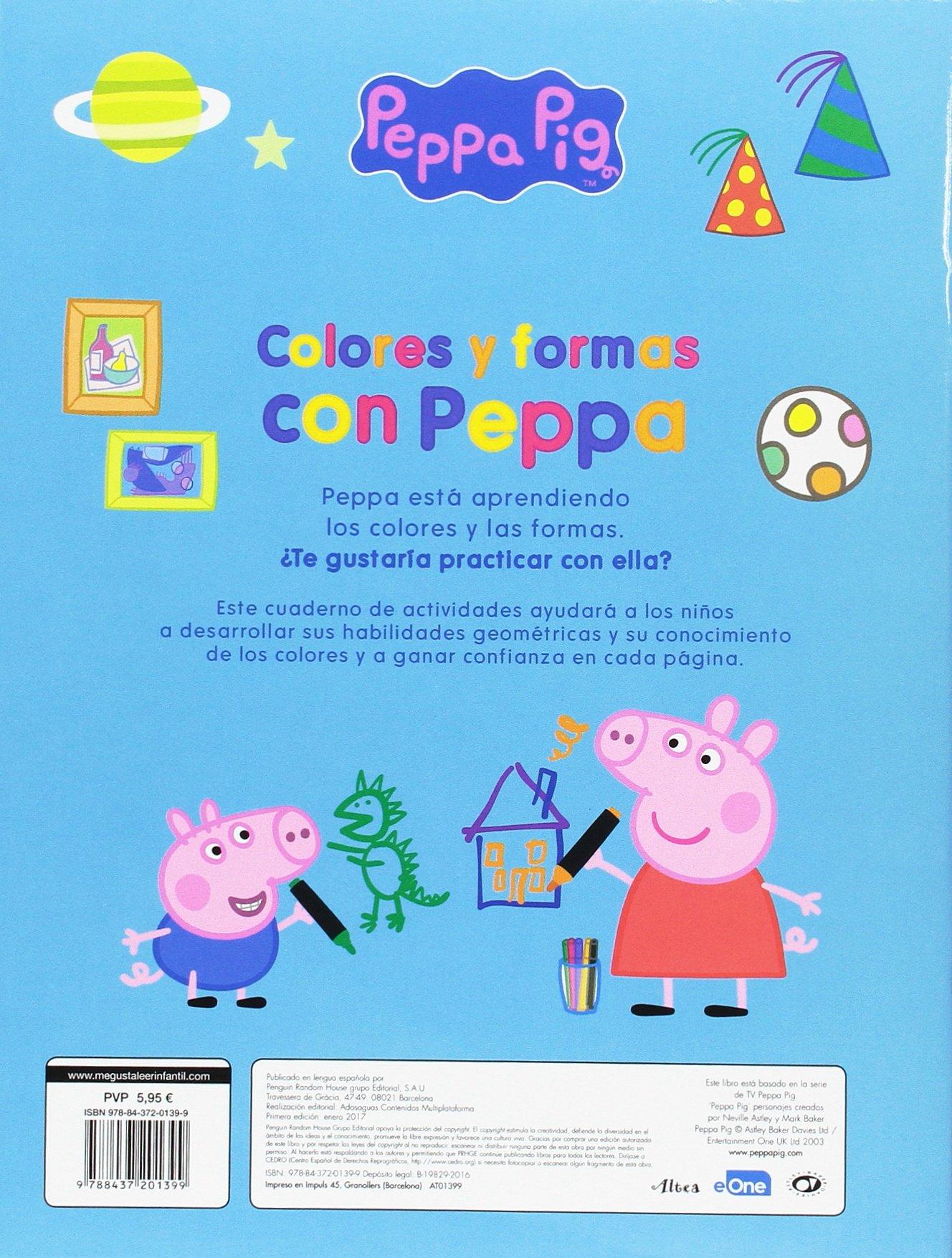 Colores y formas con Peppa (Peppa Pig. Actividades): Amazon.es ...