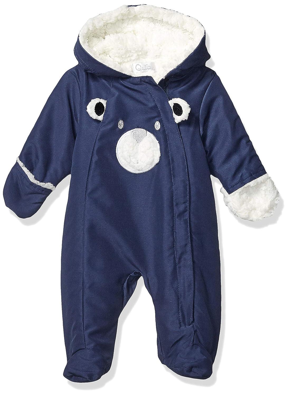 Quiltex Boys Toddler Bear Heavyweight Sided Zip Warm Pram Suit