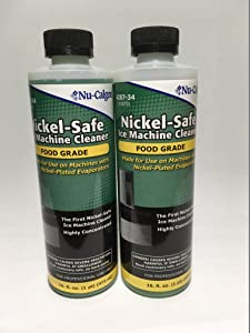 2 Pack Nu-Calgon 428734 Ice Machine Cleaner 16 oz bottles