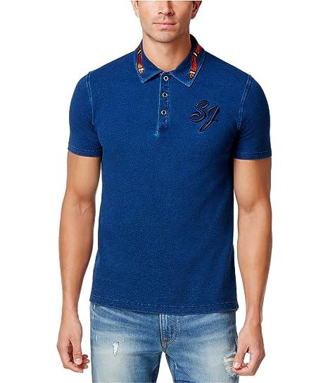d86adef2cc5 Amazon.com  Sean John Mens Big   Tall Embroidered Graphic Polo Shirt   Clothing