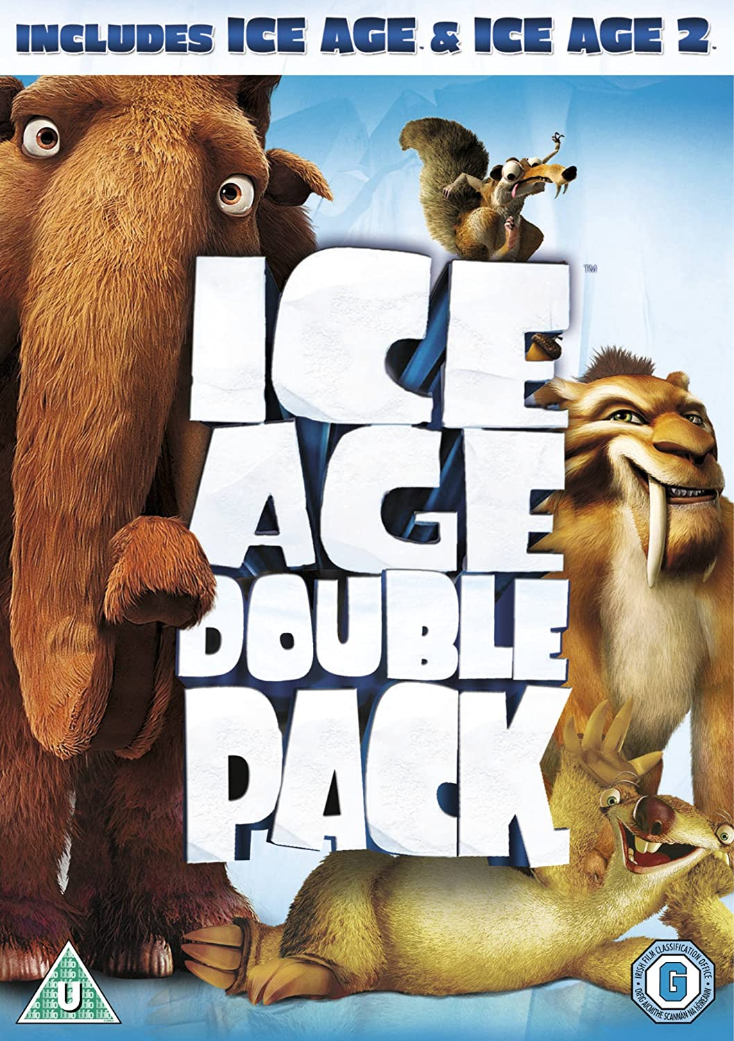 Ice Age / Ice Age 2: The Meltdown Double Pack DVD 2002: Amazon.co.uk ...