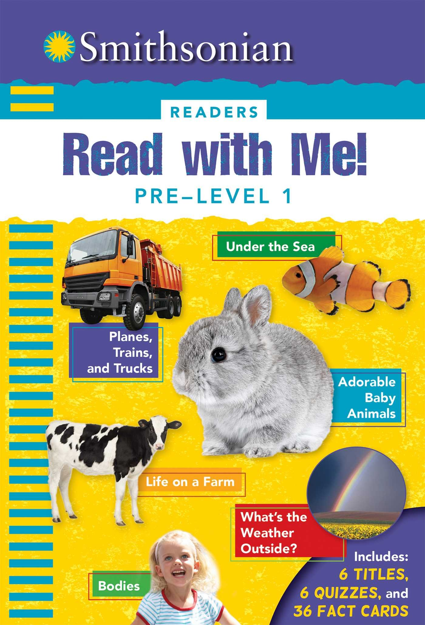 Smithsonian Readers: Read with Me! Pre Level 1 (Smithsonian Leveled Readers)