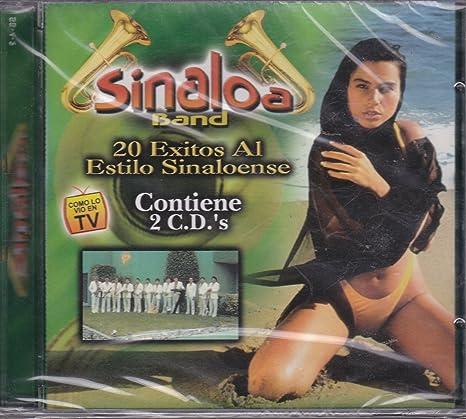 Amazon.com: 20 Exitos Al Estilo Sinaloense: Sinaloa Banda: Music