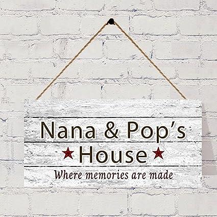Super Amazon Com Bevis554Yule Nana And Pops House Sign Where Download Free Architecture Designs Philgrimeyleaguecom