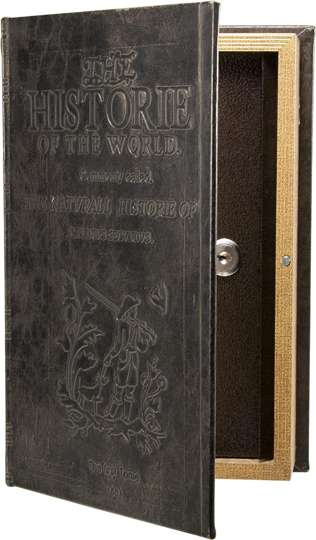 Barska Antique Book Lock Kasten mit Schlüssel Lock