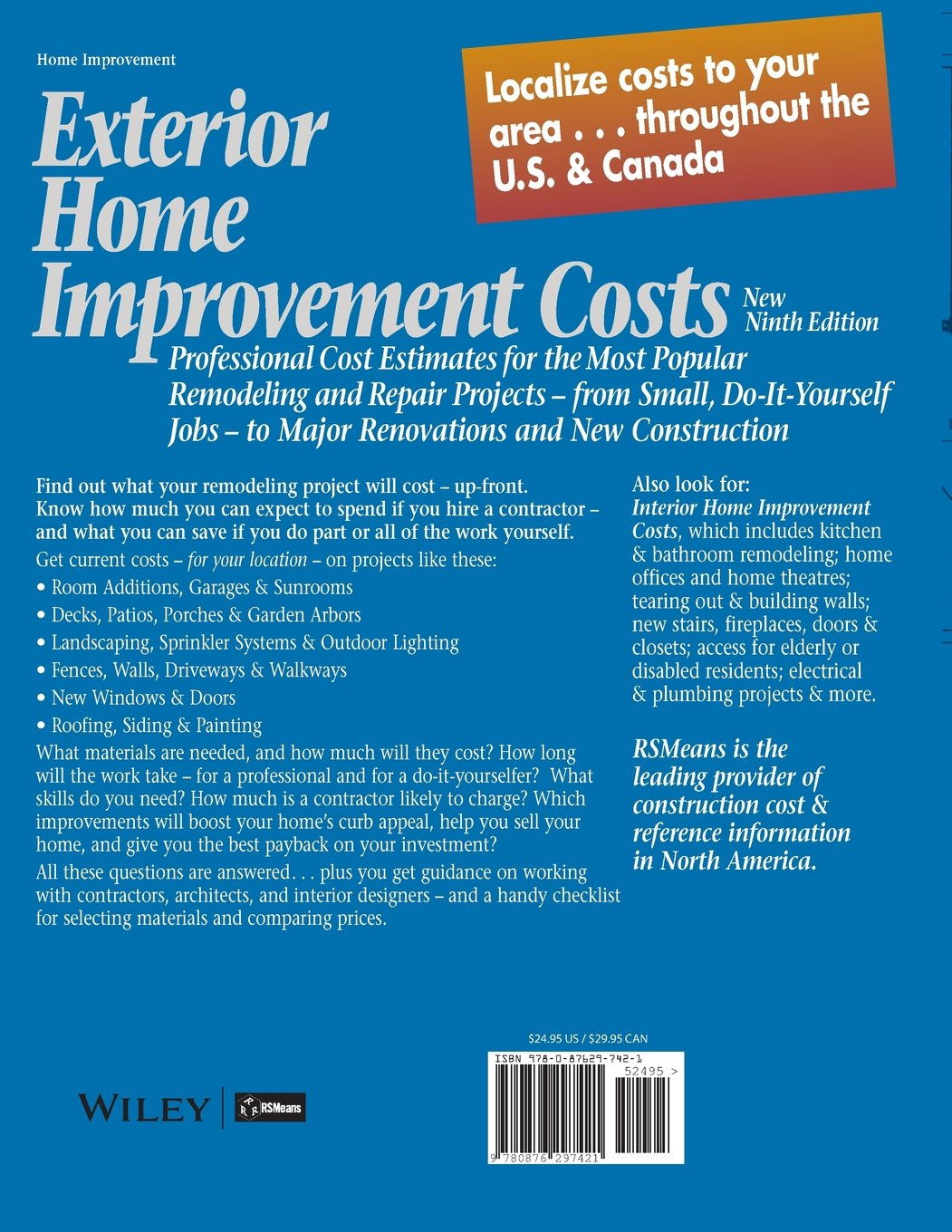 Estimating home improvement projects