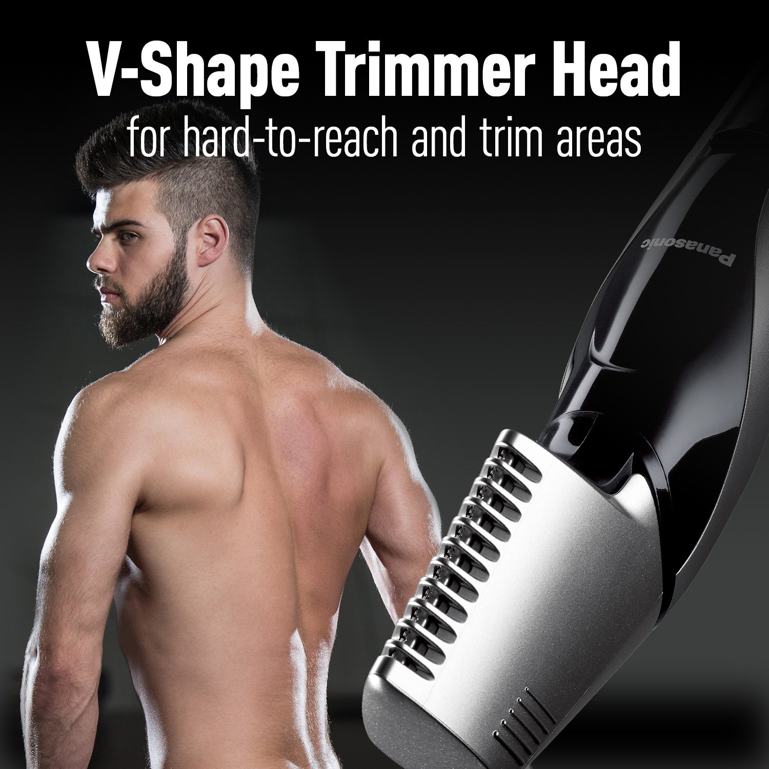 Panasonic Cordless Electric Body Hair Trimmer with Waterproof Design, ER-GK60-S by Panasonic (Image #9)