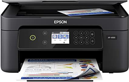 Epson Expression Home XP-4100 Wireless Color Printer with Scanner and Copier