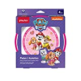Playtex Mealtime Paw Patrol Plates for Girls, 2 Pack
