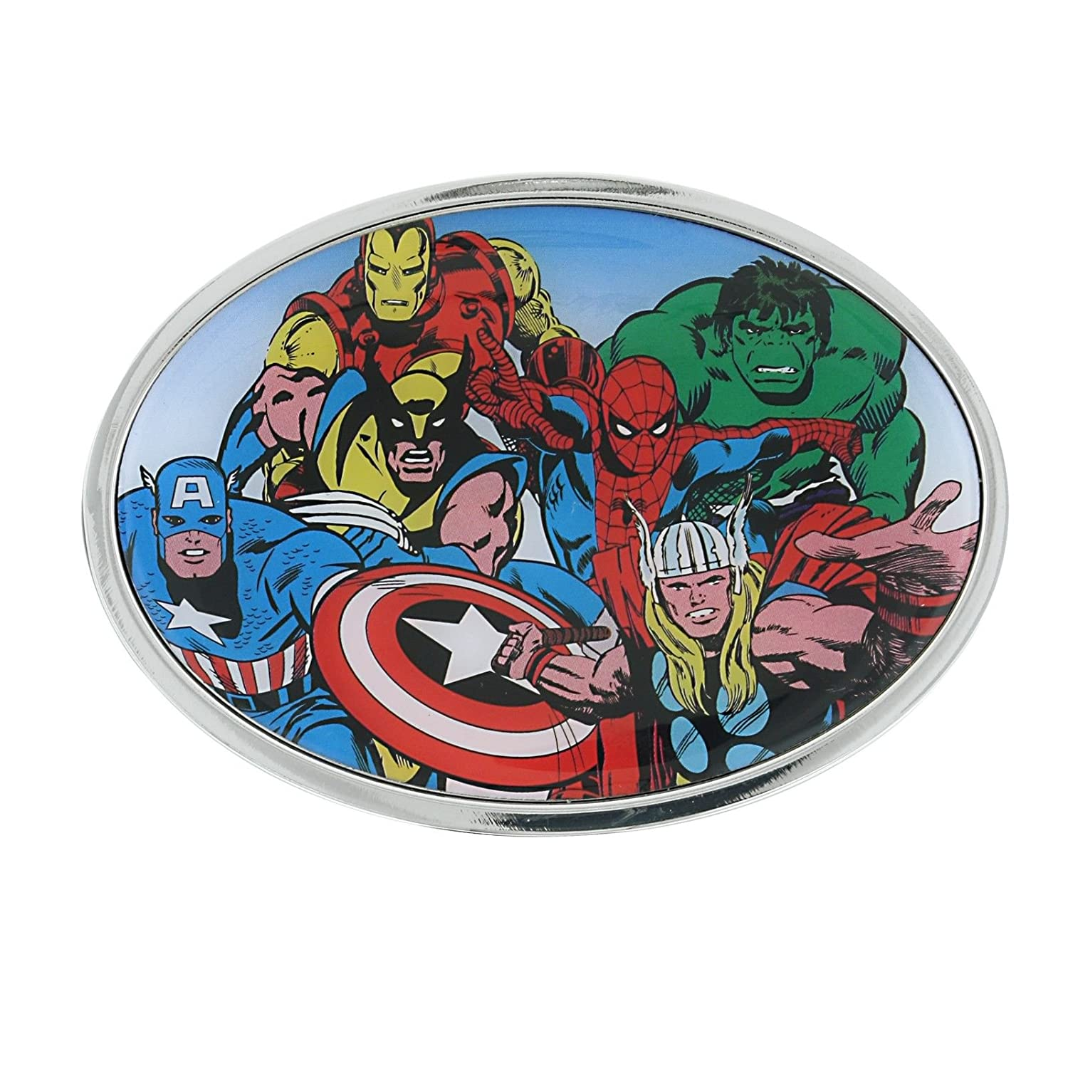 Marvel Comics The Avengers Oval Belt Buckle