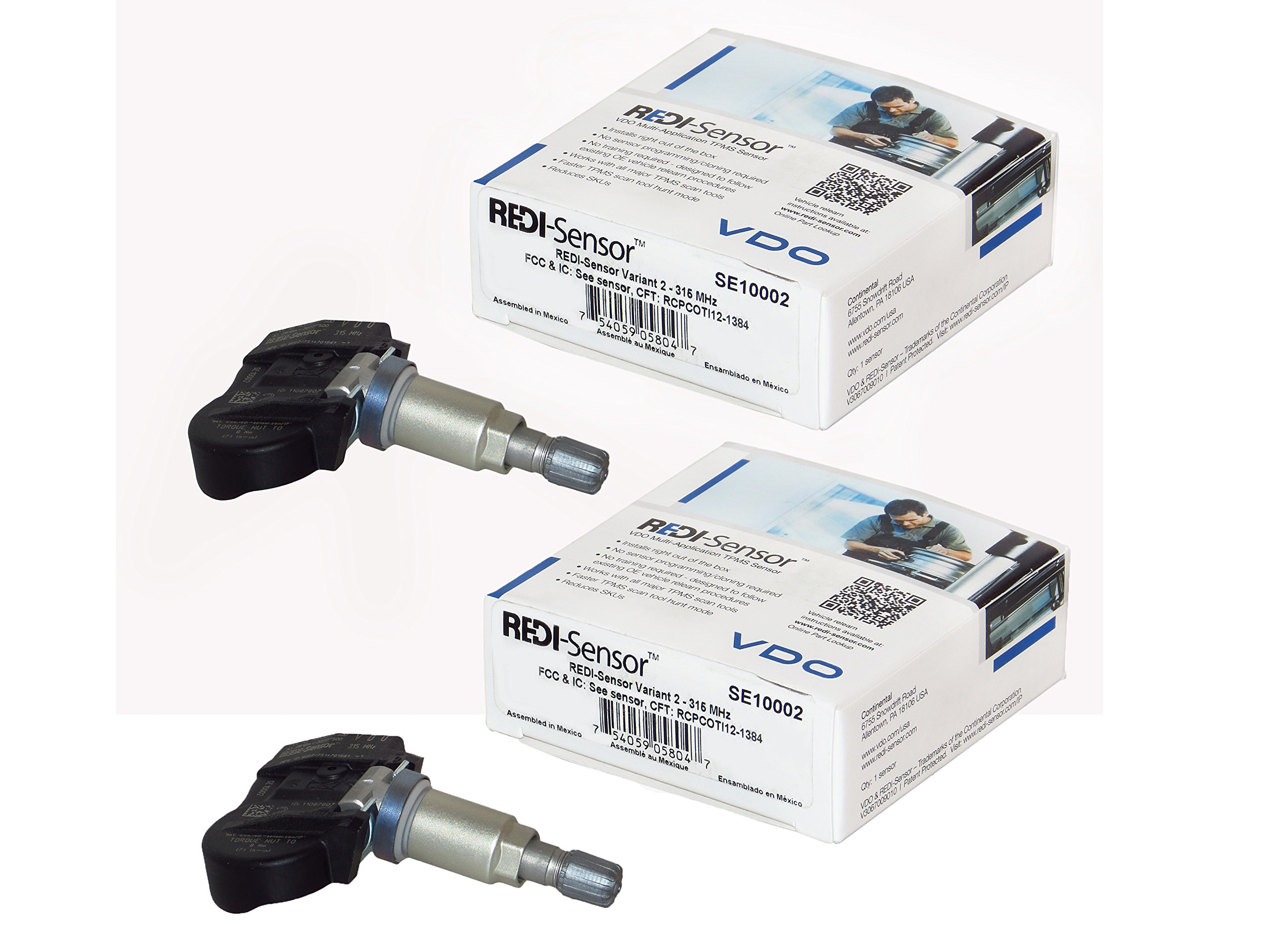 Set of Two (2) VDO SE10002 REDI-Sensor (PACK OF 2) by VDO (Image #1)