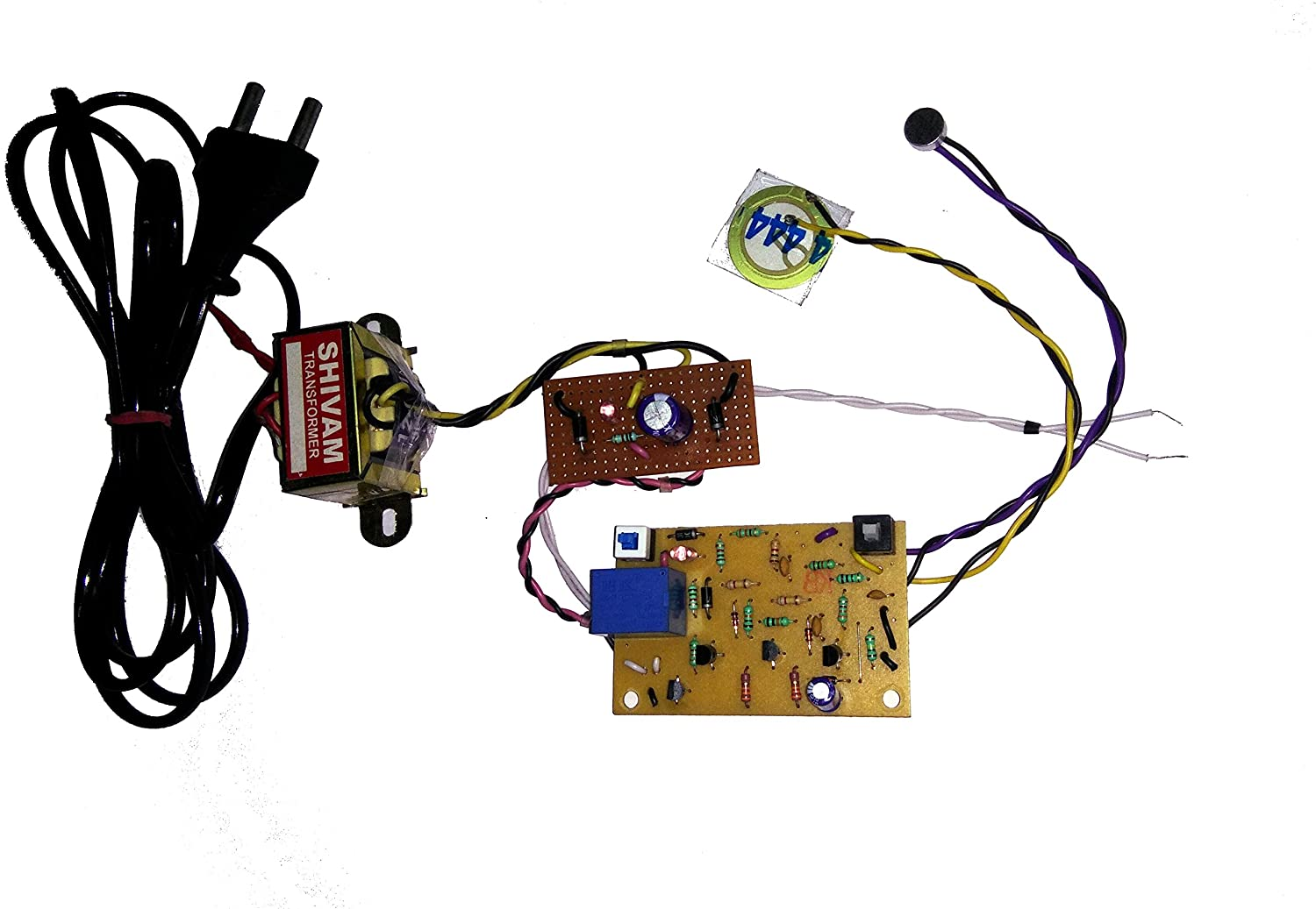 Pke Clap Sound Switch With Vibration Touch Circuit Project Simple Without Electronic Power Supply