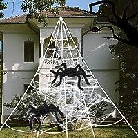 Spider Webs Halloween Decorations, 2 pcs 20