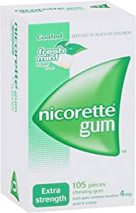 Nicorette Gum Fresh mint 4mg 105