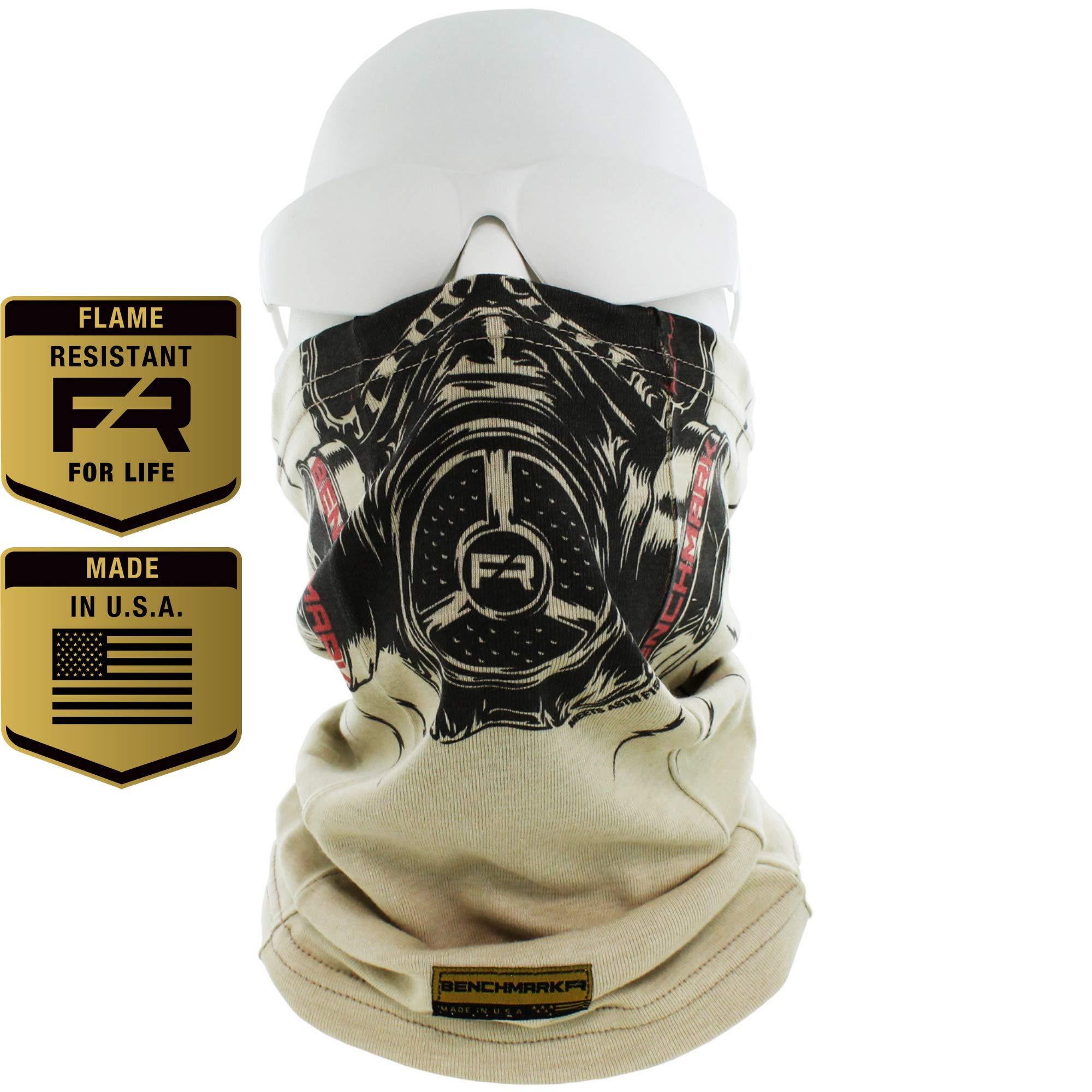 BENCHMARK FR Flame Resistant Face Mask Neck Gaiter, One Size, Soft FRC 1