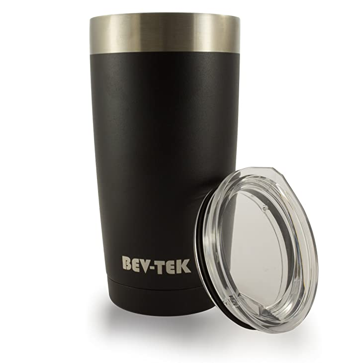 Bev-Tek-20-Ounce-Stainless-Steel-Travel-Tumbler-Cup