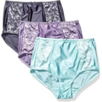Bali Women's Double Support Ultra Soft Brief 3-Pack Panty