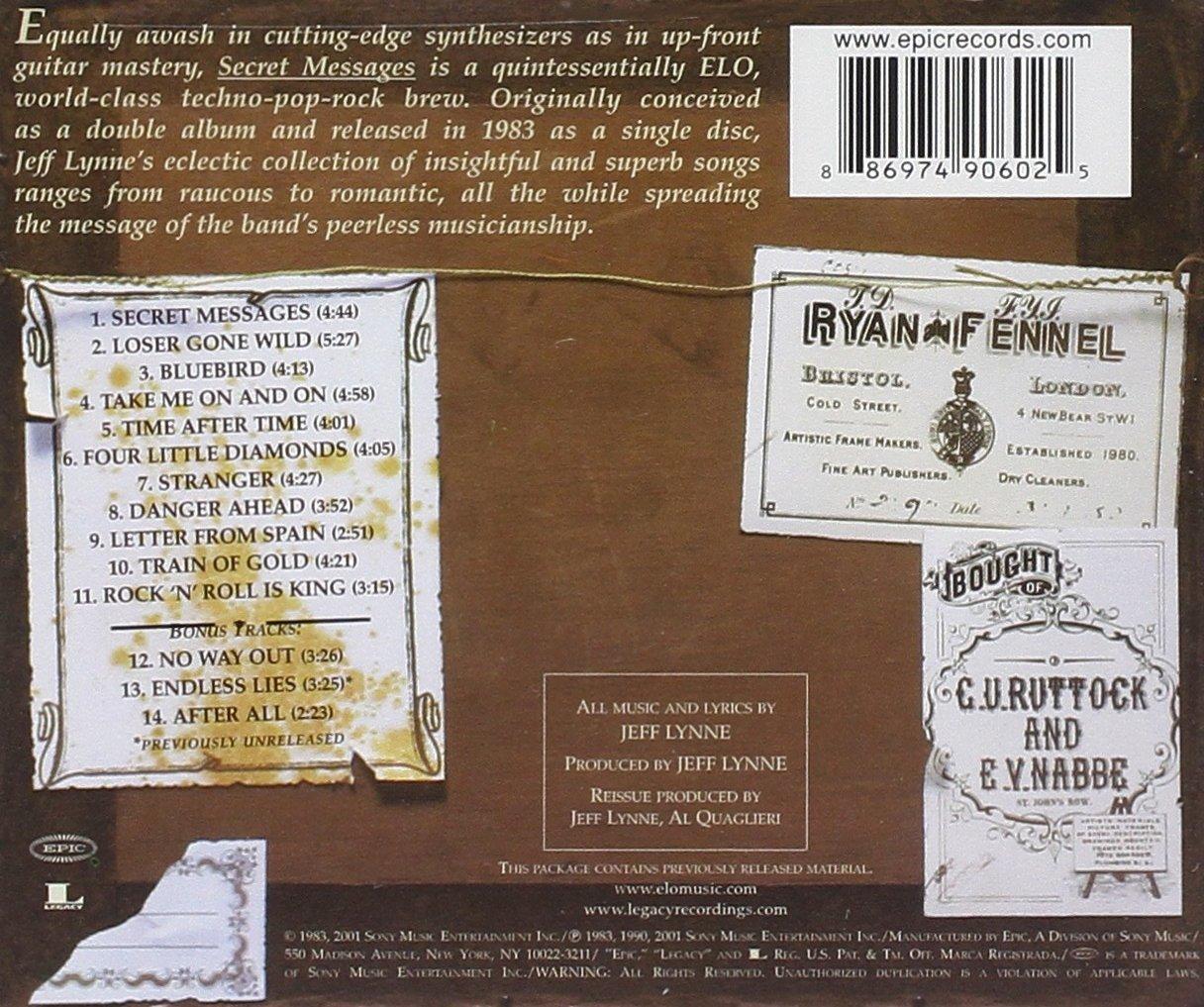 Electric Light Orchestra - Secret Messages - Amazon.com Music