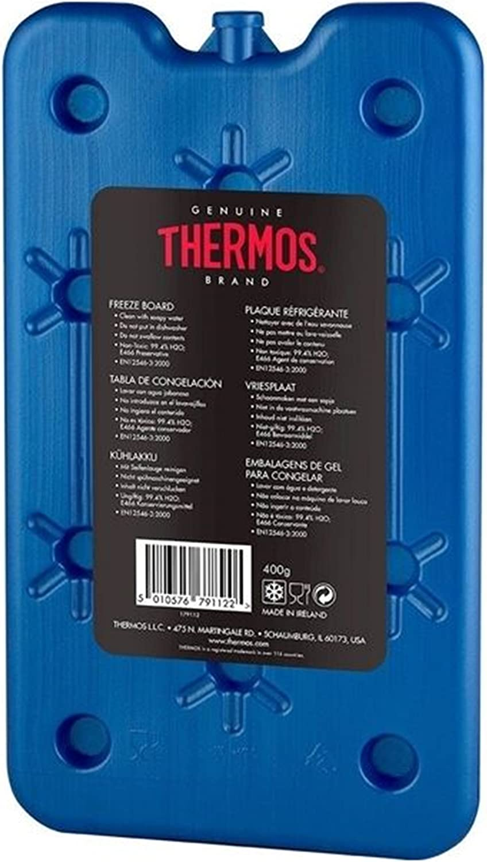 Thermos Sac isotherme Pack de Glace Freeze Planche 400 g: Amazon.es: Hogar