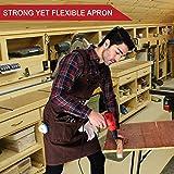 Woodworking Shop Apron - Heavy Duty Waxed Canvas
