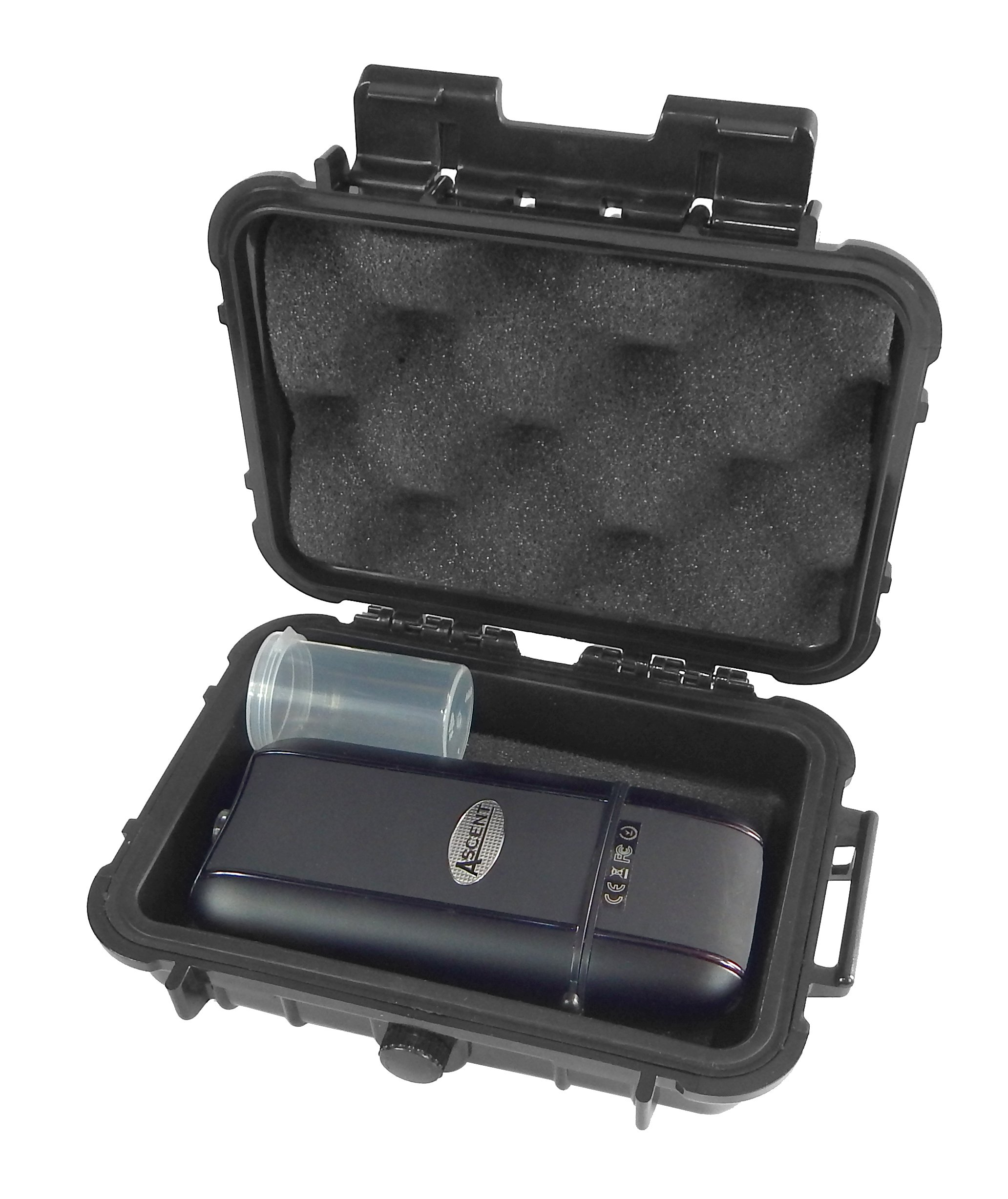 Cloud/Ten Davinci Ascent Carry Case Kit - Smell Proof Odor Resistant Protective Airtight Carry Box - Designed to Hold Davinci Ascent, Glass Mouthpiece, Spacer and Included Herb Canister